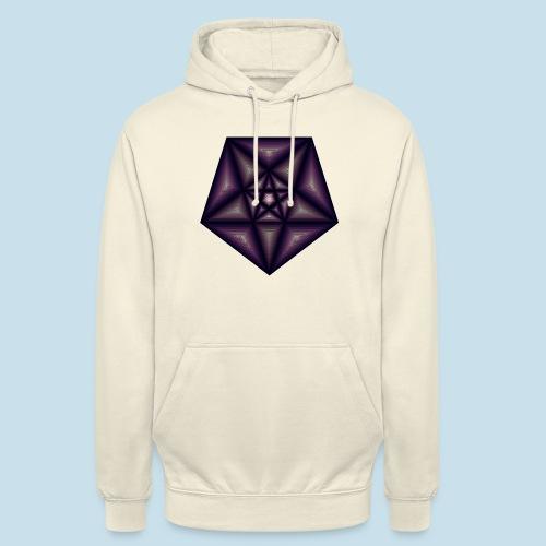 Pentagramm farbe - Unisex Hoodie