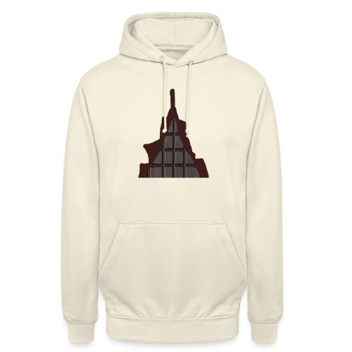 Vraiment, tablette de chocolat ! - Sweat-shirt à capuche unisexe