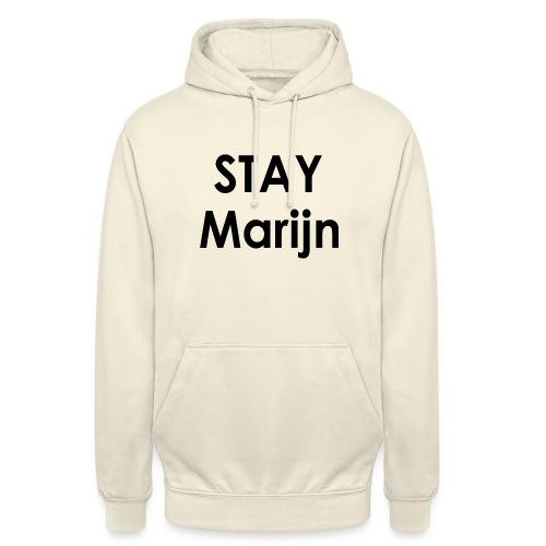 stay marijn black - Hoodie unisex