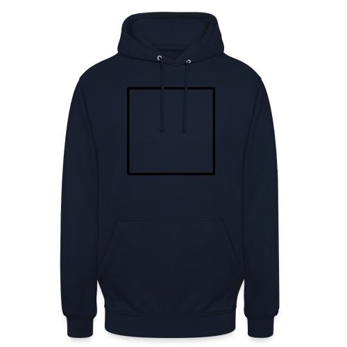 Square t shirt black - Hoodie unisex