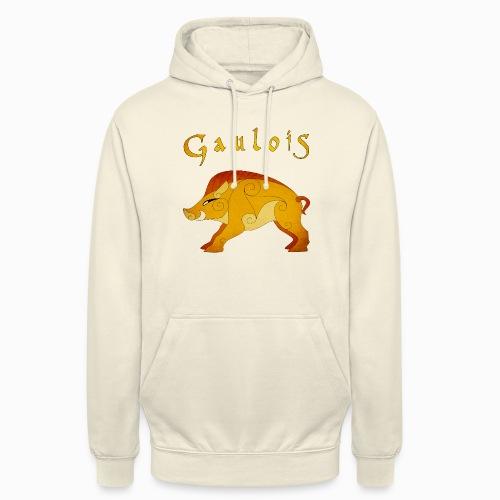 Sanglier Gaulois - Sweat-shirt à capuche unisexe