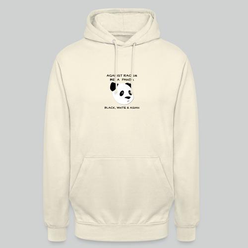 Against Racism Panda - Unisex Hoodie