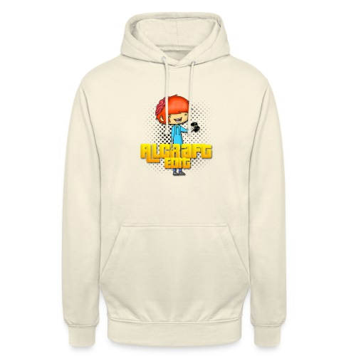 Diseño Simple AlCraft Edit - Sudadera con capucha unisex