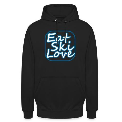 eat ski love - Hoodie unisex