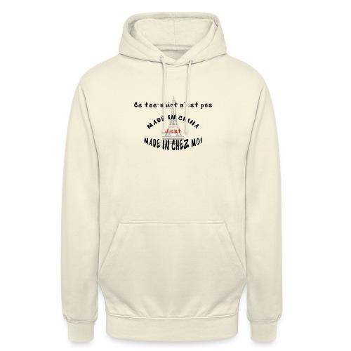 MADE IN CHEZ MOI - Sweat-shirt à capuche unisexe