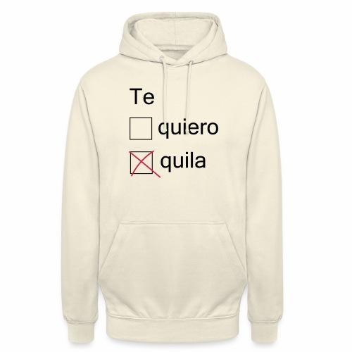 tequila - Sweat-shirt à capuche unisexe