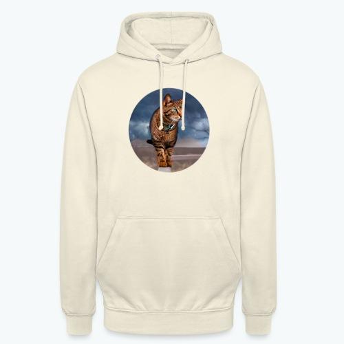 Chat sauvage - Sweat-shirt à capuche unisexe