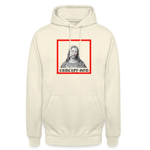 "Crucify God | Sad Jesus - Huppari ""unisex"""