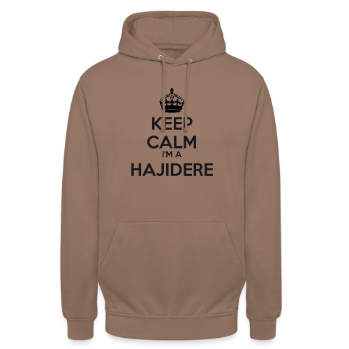 Hajidere keep calm - Unisex Hoodie