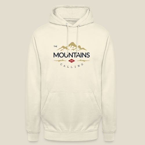 Outdoor mountain - Sweat-shirt à capuche unisexe