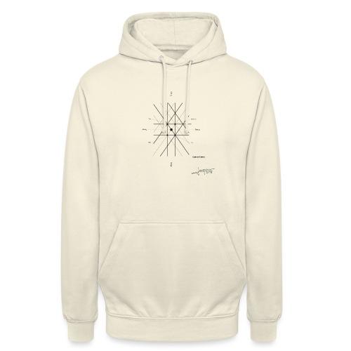 mathematique du centre_de_lunivers - Sweat-shirt à capuche unisexe