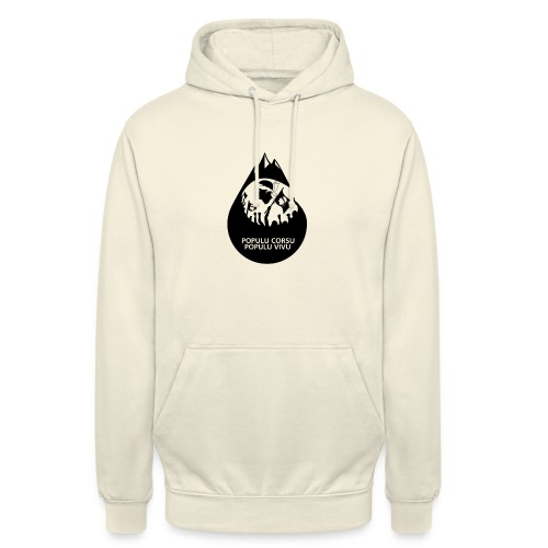 ISULA MORTA - Sweat-shirt à capuche unisexe