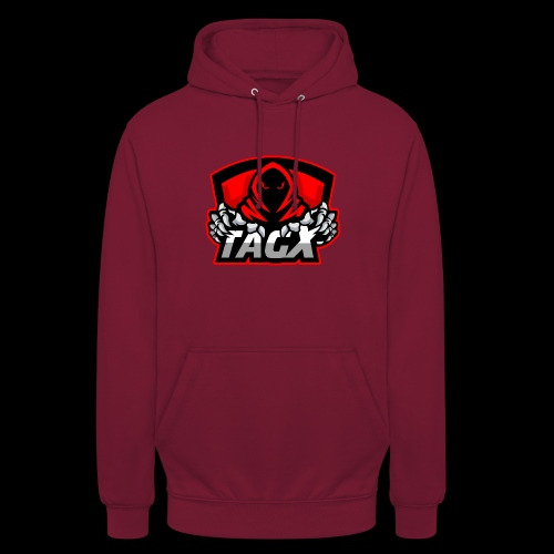 "TagX Logo with red borders - Huppari ""unisex"""
