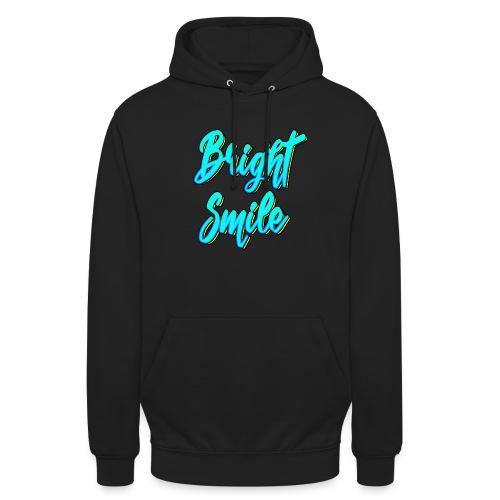 Bright smile bleu fluo - Sweat-shirt à capuche unisexe