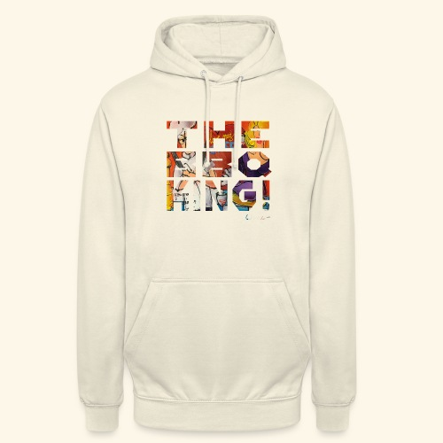 THE BBQ KING T SHIRTS TEKST - Hoodie unisex