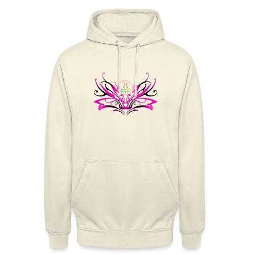 ButterFly MaitriYoga - Sweat-shirt à capuche unisexe