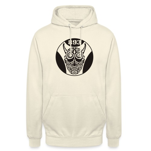 yakuza one color - Sweat-shirt à capuche unisexe
