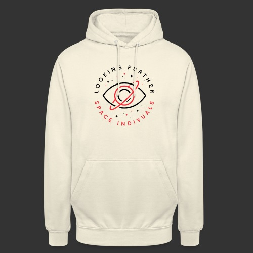 Space Individuals - Looking Further White - Unisex Hoodie