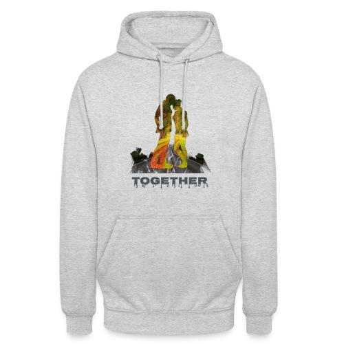 Together - Sweat-shirt à capuche unisexe
