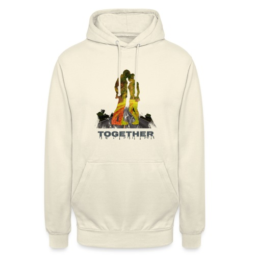 Together - Sweat-shirt à capuche unisexe