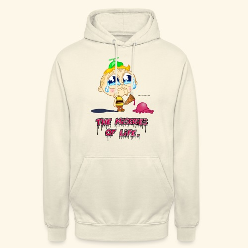 The Miseries of Life Eiscreme Eis Kind - Unisex Hoodie