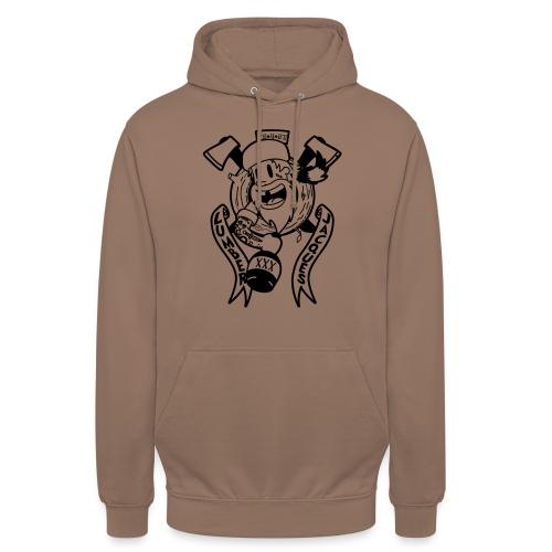 Lumber Jacques - Sweat-shirt à capuche unisexe