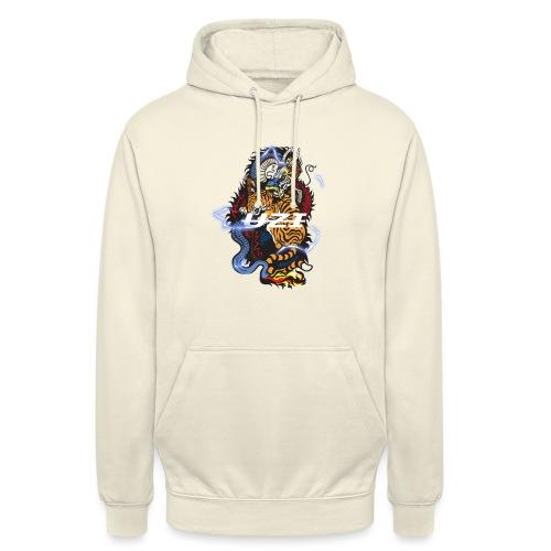 Tiger&DragonUzi - Sweat-shirt à capuche unisexe