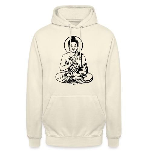 Buddha-Vektor-Outline - Unisex Hoodie