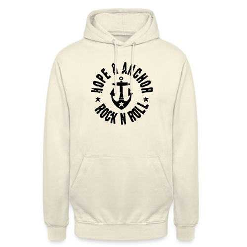 Hope & Anchor - Rock´n´Roll - Unisex Hoodie