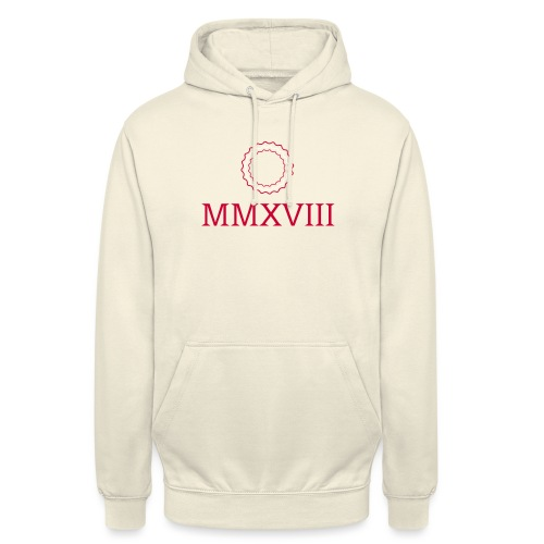 MMXVIII - logo - Sweat-shirt à capuche unisexe