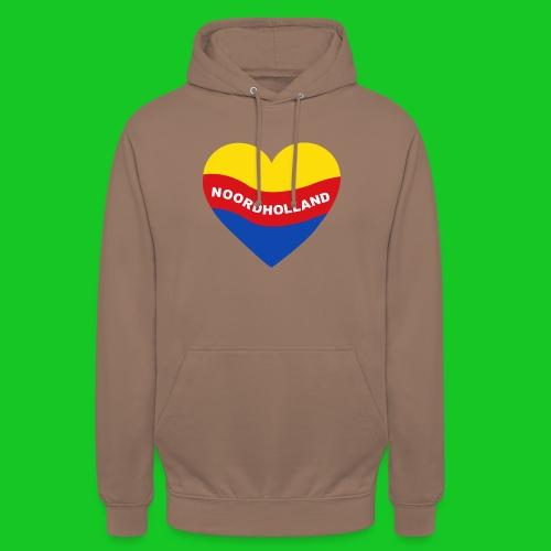 Love Noord Holland Hart.png - Hoodie unisex