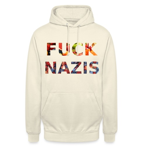Fuck Nazis with Fruits - Unisex Hoodie