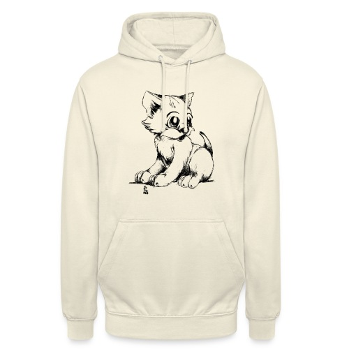 Chaton - Sweat-shirt à capuche unisexe