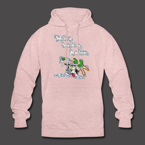 Wicked Washing Machine Cartoon and Logo - Hoodie unisex
