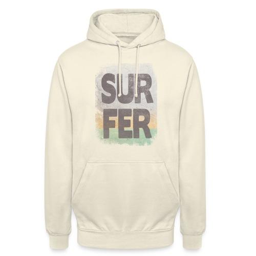 Surfer - Sudadera con capucha unisex