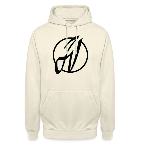 JV Guitars - logo noir - Sweat-shirt à capuche unisexe