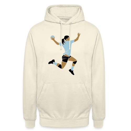 handballeuse - Sweat-shirt à capuche unisexe
