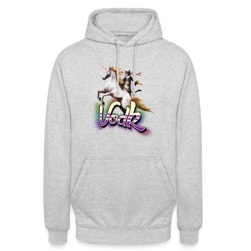 VodK licorne png - Sweat-shirt à capuche unisexe