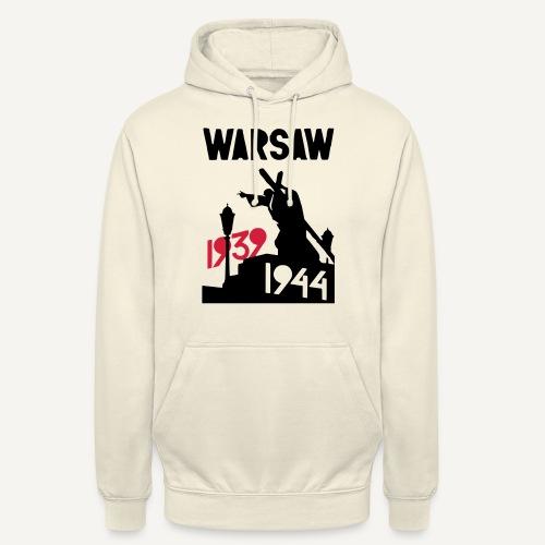 Warsaw 1939-1944 - Bluza z kapturem typu unisex
