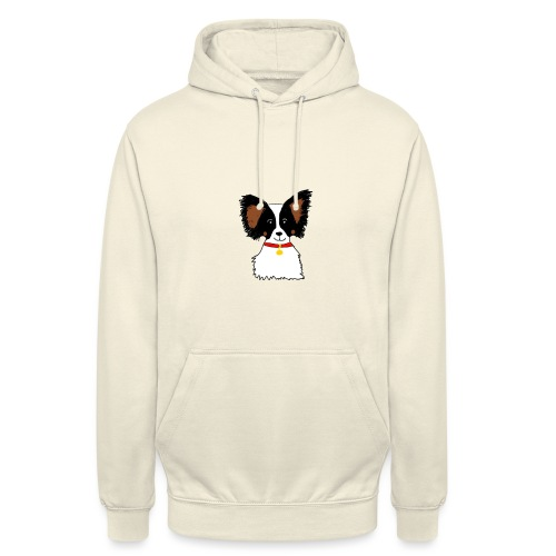 Papillon dog - Unisex Hoodie