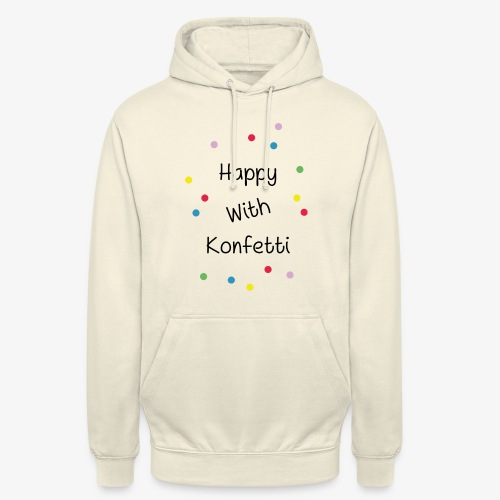 Happy With Konfetti - Unisex Hoodie