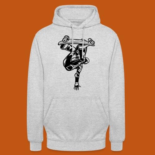 Skater / Skateboarder 03_schwarz - Unisex Hoodie