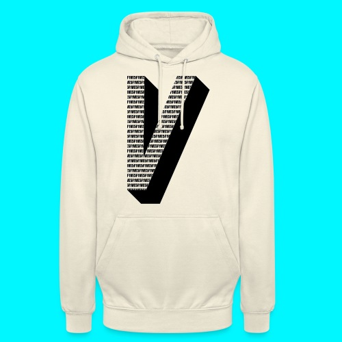 FIVES big V - Sweat-shirt à capuche unisexe