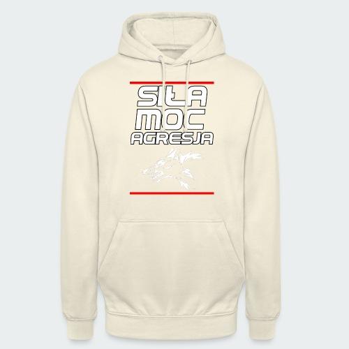 Męska Koszulka Premium TheWolf - Bluza z kapturem typu unisex