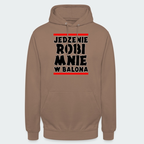 Damska Koszulka Premium JRBWB - Bluza z kapturem typu unisex