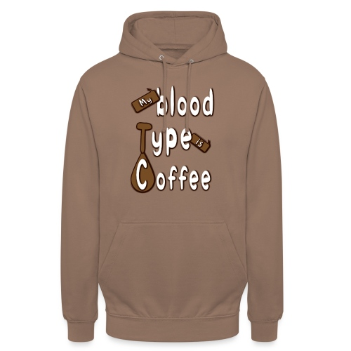 "Blood Coffee - Huppari ""unisex"""
