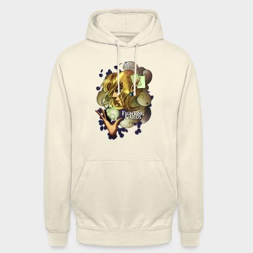 Fighting cards - Soigneuse - Sweat-shirt à capuche unisexe