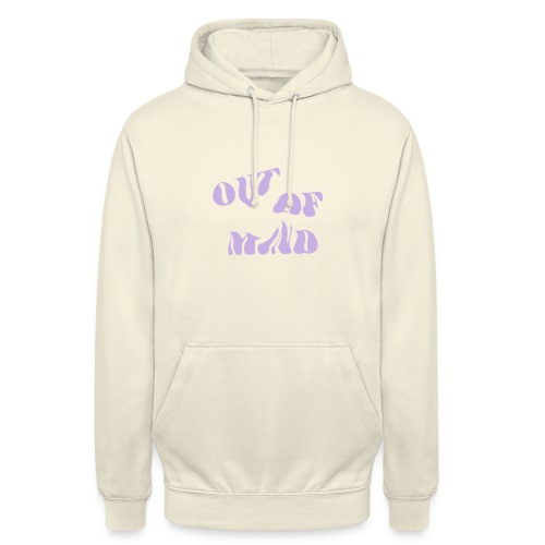 OUT OF MIND - Sudadera con capucha unisex