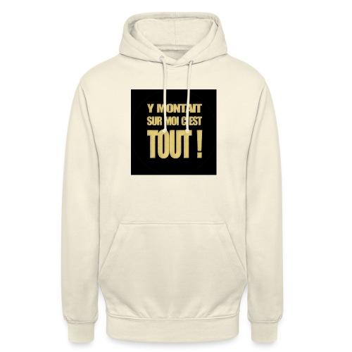 badgemontaitsurmoi - Sweat-shirt à capuche unisexe