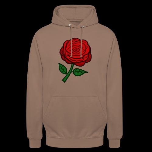 Rote Rose - Unisex Hoodie